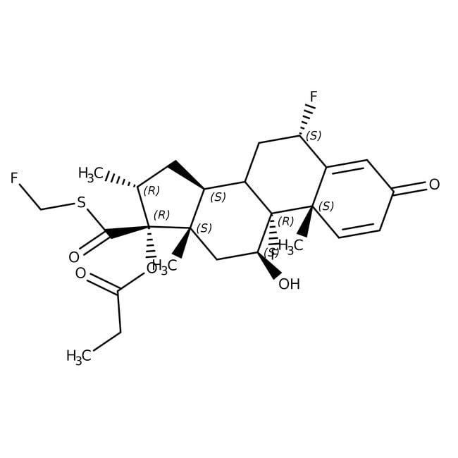 Fluticasone propionate, ACROS Organics™ 500mg Fluticasone propionate, ACROS Organics™
