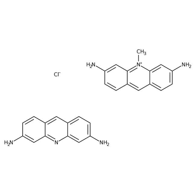 Acriflavine neutral, 13.3-15.8% chlorine, ACROS Organics