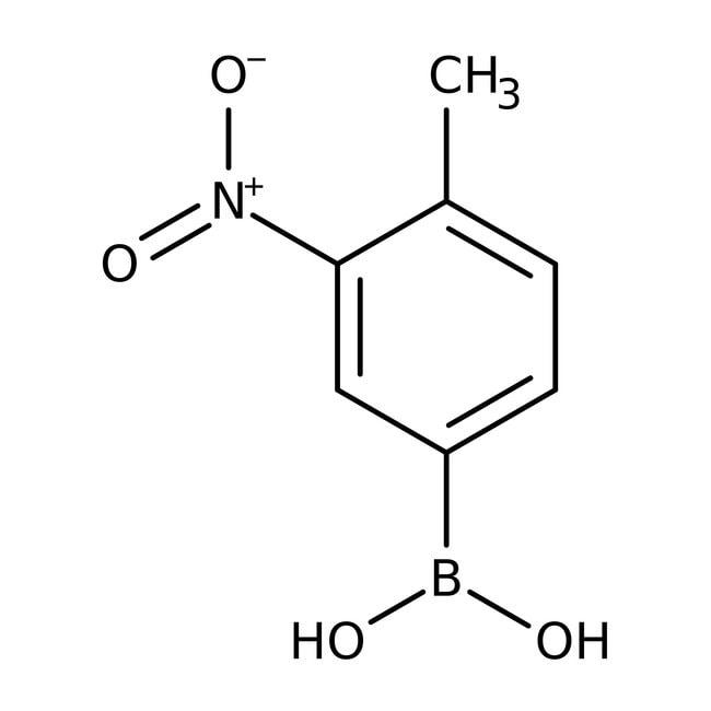Alfa Aesar™4-Methyl-3-nitrobenzeneboronic acid, 98% 1g Alfa Aesar™4-Methyl-3-nitrobenzeneboronic acid, 98%