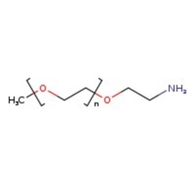 Alfa Aesar™Methoxypolyethylene glycol amine, M.W. 1,000 1g Alfa Aesar™Methoxypolyethylene glycol amine, M.W. 1,000