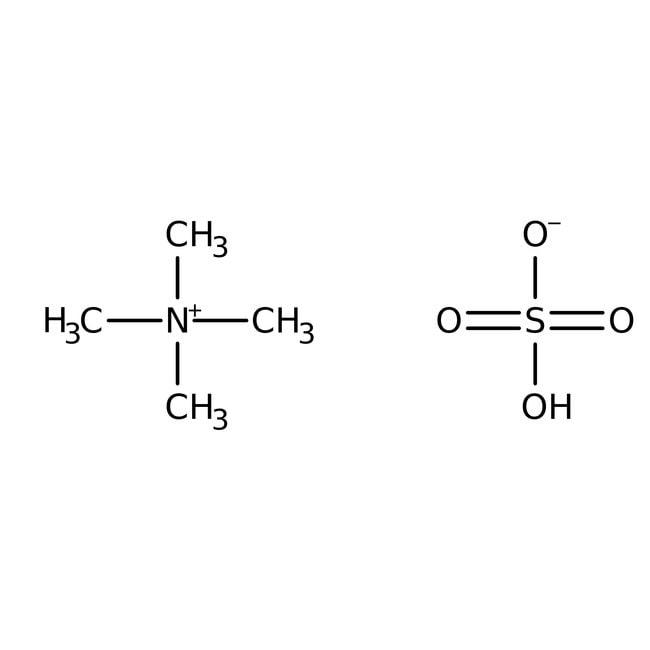 Tetramethylammonium hydrogensulfate, 99+%, HPLC grade, ACROS Organics™
