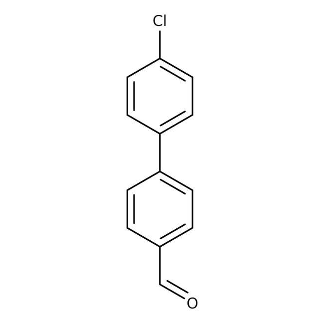 4'-Chlorobiphenyl-4-carboxaldehyde, 97%, ACROS Organics™ 5g 4'-Chlorobiphenyl-4-carboxaldehyde, 97%, ACROS Organics™