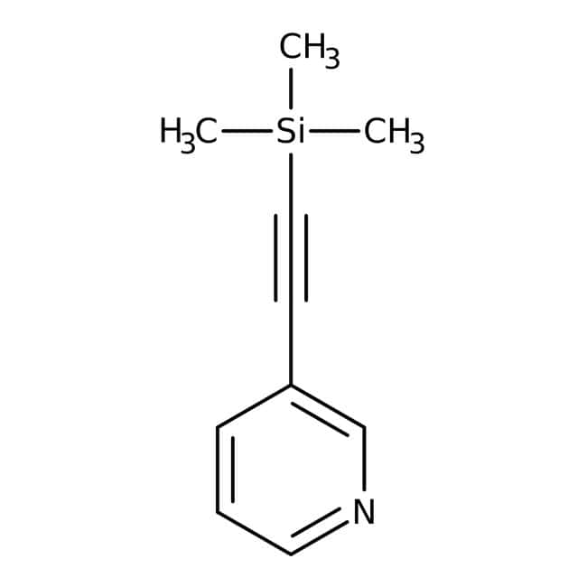 3-[(Trimethylsilyl)ethynyl]pyridine, 97%, Alfa Aesar™