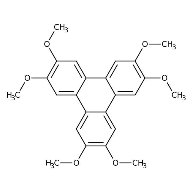2,3,6,7,10,11-Hexamethoxytriphenylene 95.0 %, TCI America