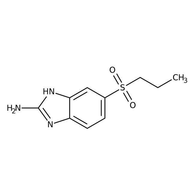 Alfa Aesar™2-Amino-5-n-propylsulfonylbenzimidazole, 98+% 100mg Alfa Aesar™2-Amino-5-n-propylsulfonylbenzimidazole, 98+%