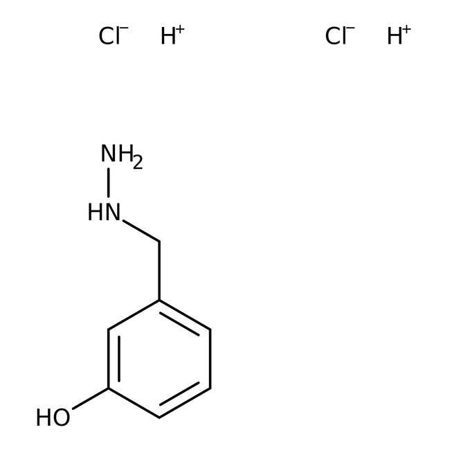 3-Hydroxybenzylhydrazine dihydrochloride, 98%, ACROS Organics™