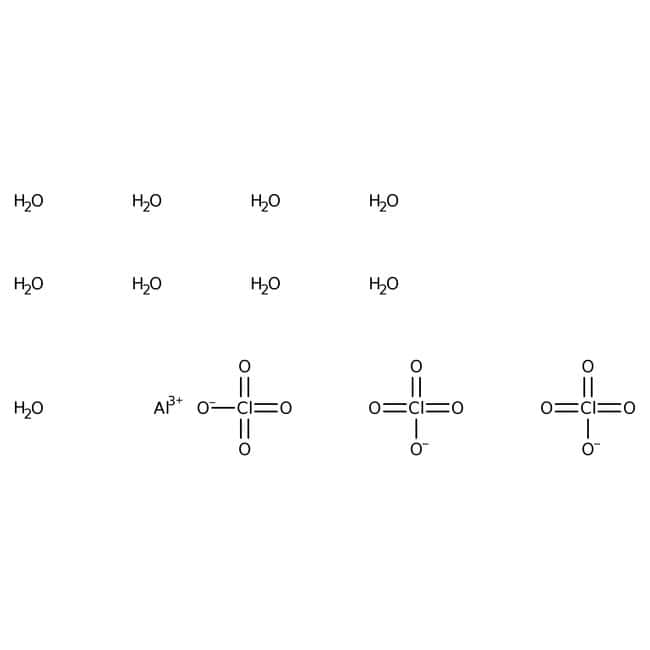 Alfa Aesar™Perchlorate d'aluminium non ahydraté, qualité réactif 500g Alfa Aesar™Perchlorate d'aluminium non ahydraté, qualité réactif
