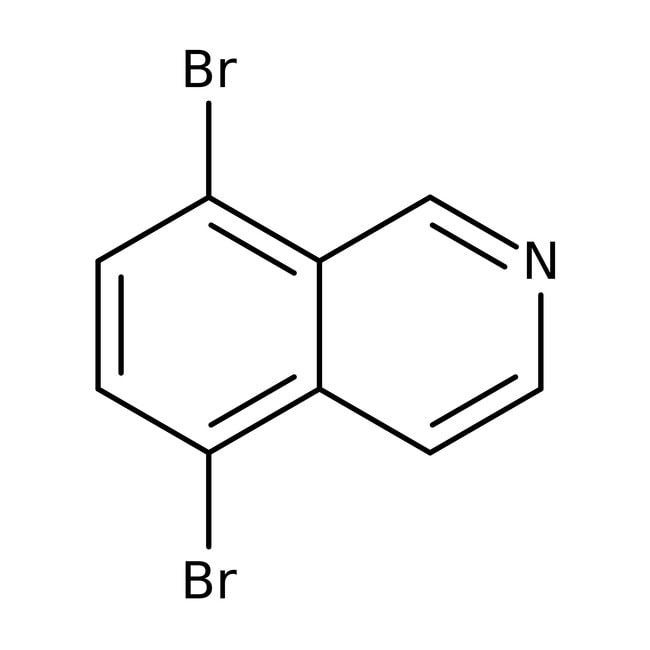 Alfa Aesar™5,8-Dibromoisoquinoline, 98% 250mg Alfa Aesar™5,8-Dibromoisoquinoline, 98%
