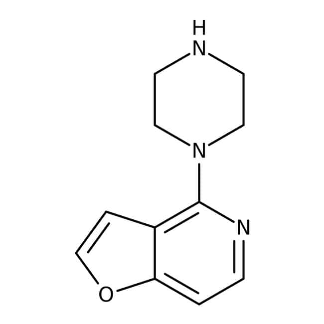 4-Piperazin-1-yl-furo[3,2-c]pyridine, ≥95%, Maybridge Amber Glass Bottle; 250mg 4-Piperazin-1-yl-furo[3,2-c]pyridine, ≥95%, Maybridge
