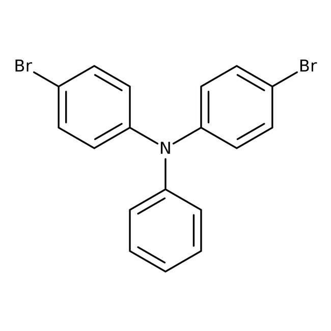 Alfa Aesar™4,4'-Dibromotriphenylamine, 98% 1g Alfa Aesar™4,4'-Dibromotriphenylamine, 98%