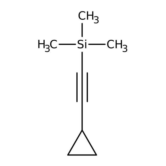 Cyclopropyl(trimethylsilyl)acetylene, +97%, ACROS Organics