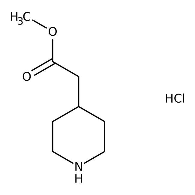 Methyl (4-Piperidyl)acetate Hydrochloride 98.0+%, TCI America™