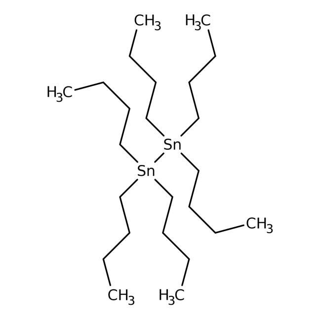 Hexa-n-butylditin, 98%, ACROS Organics™ 10g; Glass bottle Hexa-n-butylditin, 98%, ACROS Organics™