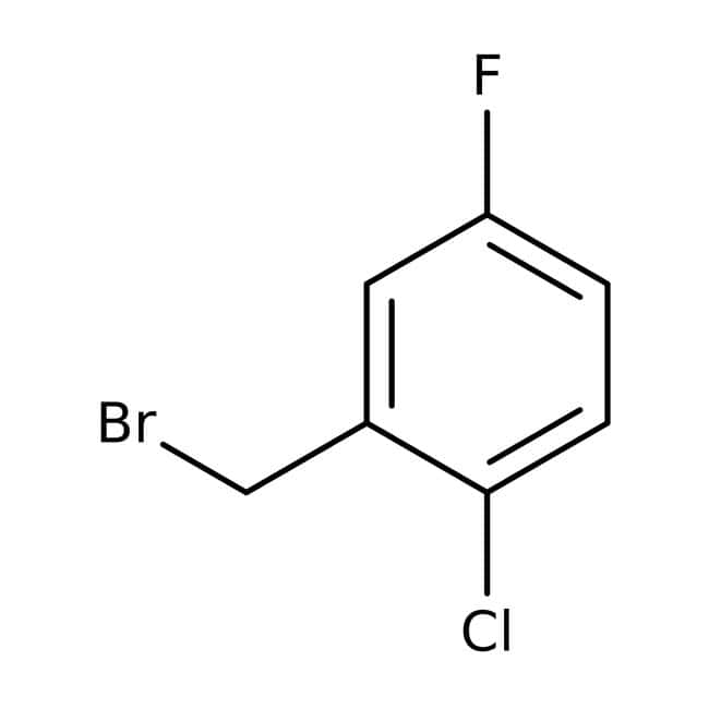 Alfa Aesar™2-Chlor-5-fluorbenzylbromid, 98% 1g Alfa Aesar™2-Chlor-5-fluorbenzylbromid, 98%