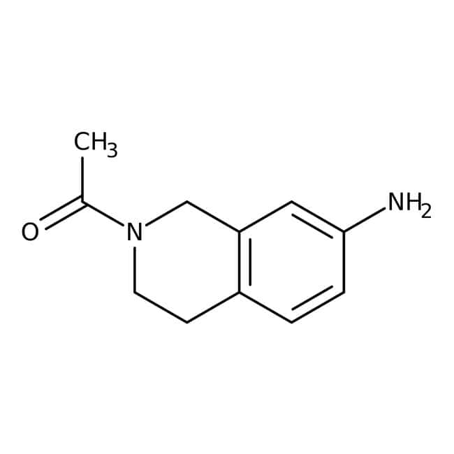 Alfa Aesar™2-Acetyl-7-amino-1,2,3,4-tetrahydroisoquinoline, 95% 1g Alfa Aesar™2-Acetyl-7-amino-1,2,3,4-tetrahydroisoquinoline, 95%