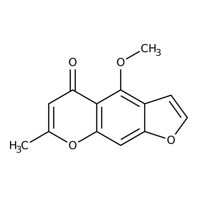 4-Methoxy-7-methyl-5H-furo[3,2-g][1]benzopyran-5-one, 97%, ACROS Organics™
