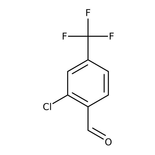 Alfa Aesar™2-Chloro-4-(trifluoromethyl)benzaldehyde, 97% 1g Alfa Aesar™2-Chloro-4-(trifluoromethyl)benzaldehyde, 97%