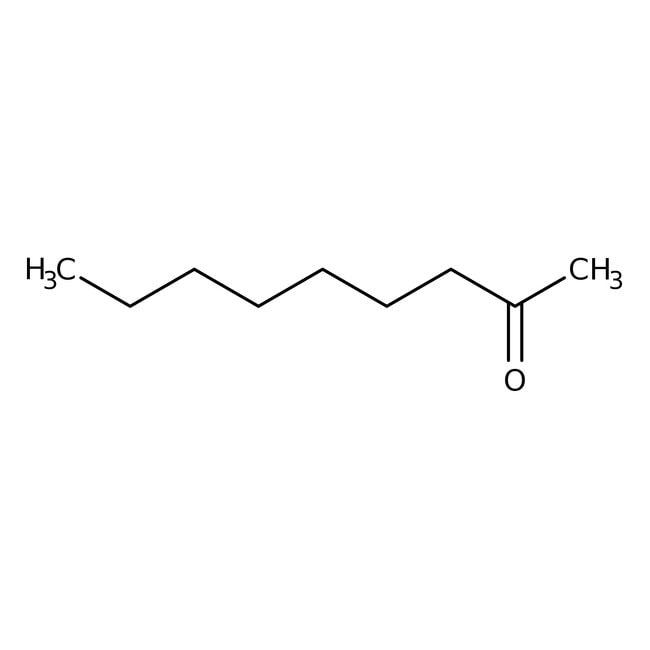 2-Nonanone, 99%, ACROS Organics™ 500mL; Glass bottle 2-Nonanone, 99%, ACROS Organics™