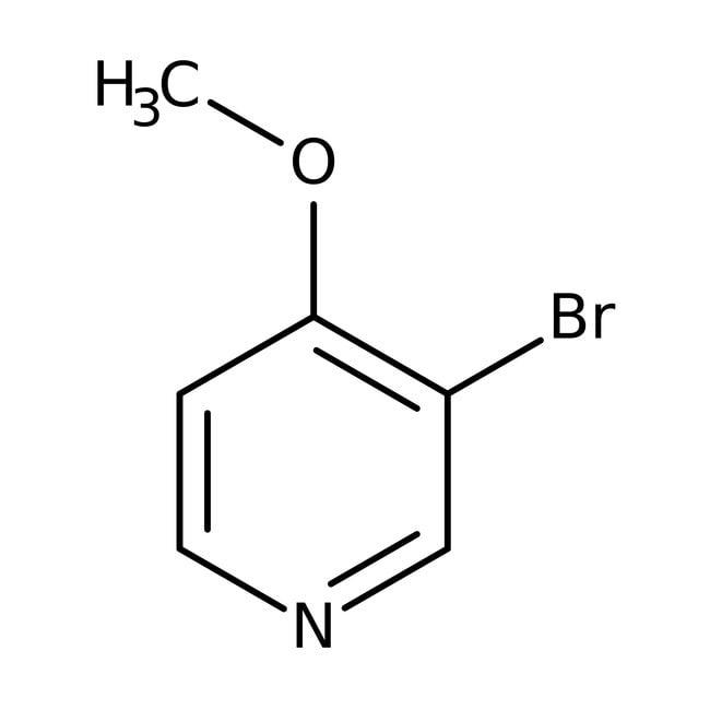 Alfa Aesar™3-Bromo-4-methoxypyridine, 97% 250mg Alfa Aesar™3-Bromo-4-methoxypyridine, 97%