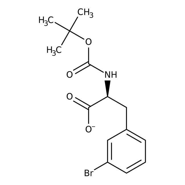 Alfa Aesar™N-Boc-3-bromo-L-phenylalanine, 95% 250mg Alfa Aesar™N-Boc-3-bromo-L-phenylalanine, 95%