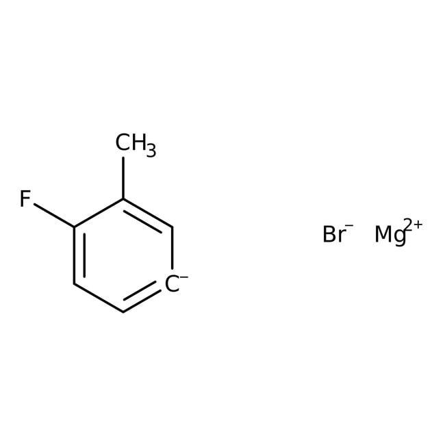 4-Fluoro-3-methylphenylmagnesium bromide, 0.5M solution in THF, AcroSeal , Acros Organics