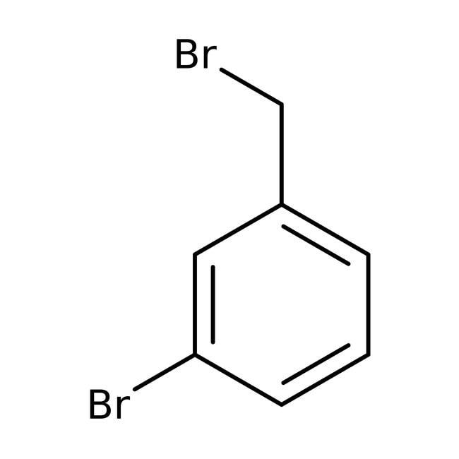 3-Bromobenzyl bromide, 95%, ACROS Organics™ 5g; Glass bottle 3-Bromobenzyl bromide, 95%, ACROS Organics™