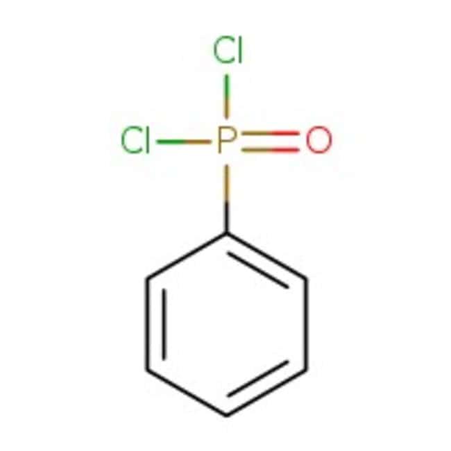 Alfa Aesar™Phenylphosphonic dichloride, 90+% 1000g Alfa Aesar™Phenylphosphonic dichloride, 90+%