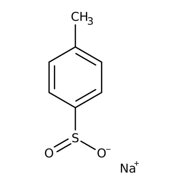 p-Toluenesulfinic acid, sodium salt, 97%, anhydrous, ACROS Organics™ 25g; Glass bottle p-Toluenesulfinic acid, sodium salt, 97%, anhydrous, ACROS Organics™