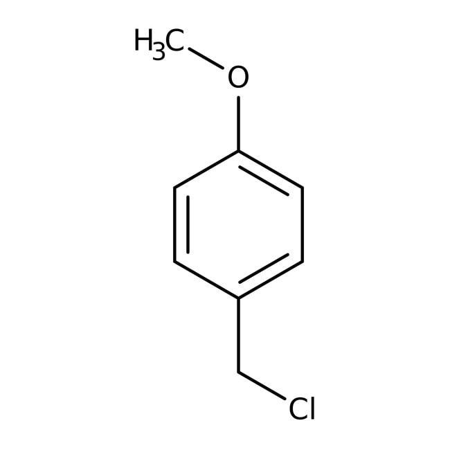 4-Methoxybenzyl Chloride (stabilized with Amylene) 98.0 %, TCI America