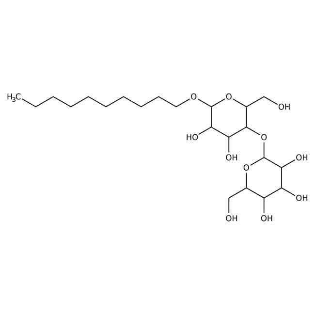 Alfa Aesar™Decyl beta-D-maltopyranoside, 98% 1g Alfa Aesar™Decyl beta-D-maltopyranoside, 98%