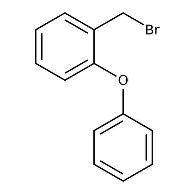 1-(bromomethyl)-2-phenoxybenzene, 90%, Maybridge 250mg 1-(bromomethyl)-2-phenoxybenzene, 90%, Maybridge