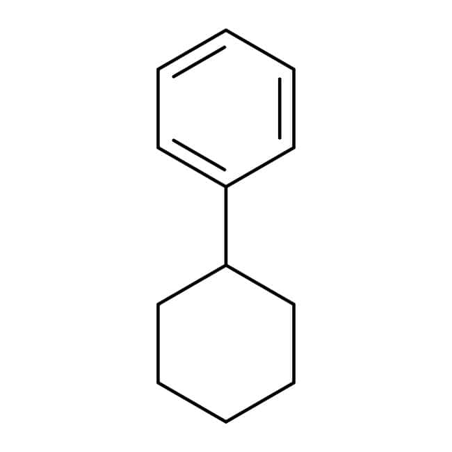 Cyclohexylbenzene, 98%, Acros Organics 500mL; Glass bottle Cyclohexylbenzene, 98%, Acros Organics