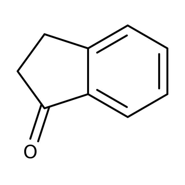 1-Indanone, 99+%, ACROS Organics™ 100g; Glass bottle 1-Indanone, 99+%, ACROS Organics™