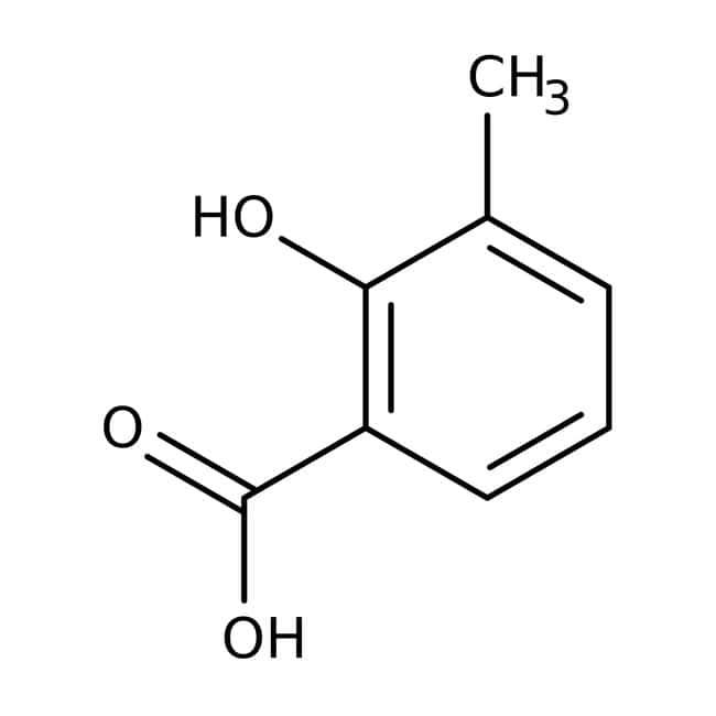 3-Methylsalicylic acid, 99%, ACROS Organics™ 500g; Plastic bottle 3-Methylsalicylic acid, 99%, ACROS Organics™