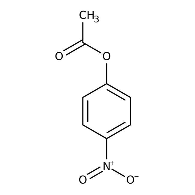 Alfa Aesar™4-Nitrophenyl acetate, 98+% 50g Alfa Aesar™4-Nitrophenyl acetate, 98+%