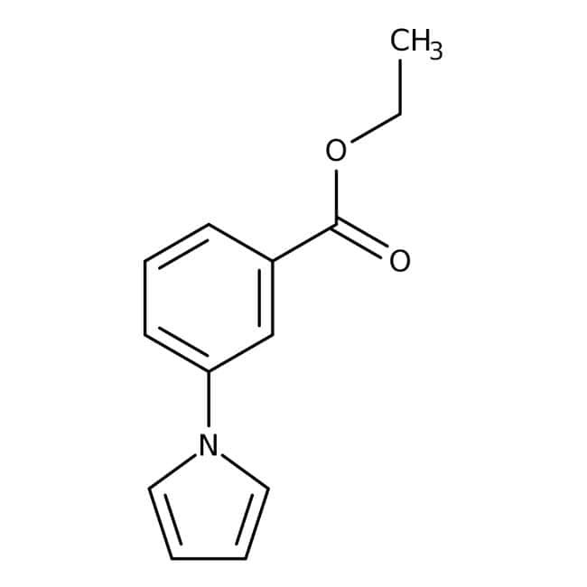 Alfa Aesar™1-(3-Ethoxycarbonylphenyl)-pyrrol, 98% 25g Alfa Aesar™1-(3-Ethoxycarbonylphenyl)-pyrrol, 98%