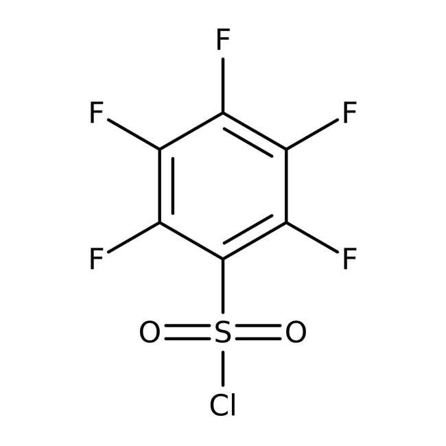 Pentafluorobenzenesulfonyl chloride, 99%, ACROS Organics