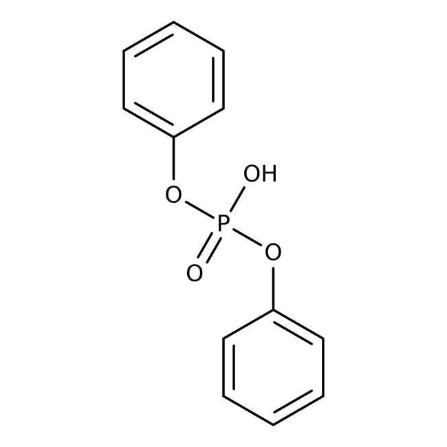 Diphenyl phosphate, 99%, ACROS Organics™ 5g; Glass bottle Diphenyl phosphate, 99%, ACROS Organics™