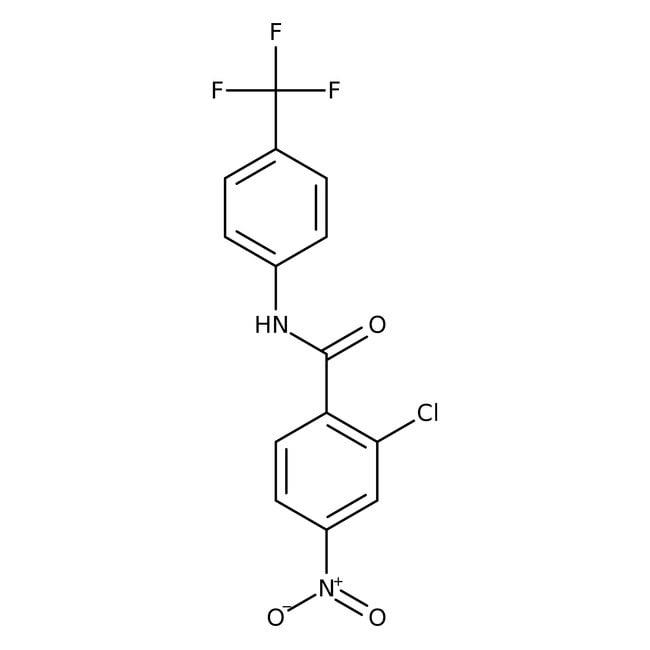 2-Chloro-4-nitro-N-[4-(trifluoromethyl)phenyl]benzamide, 97%, Alfa Aesar™ 250mg Ver productos