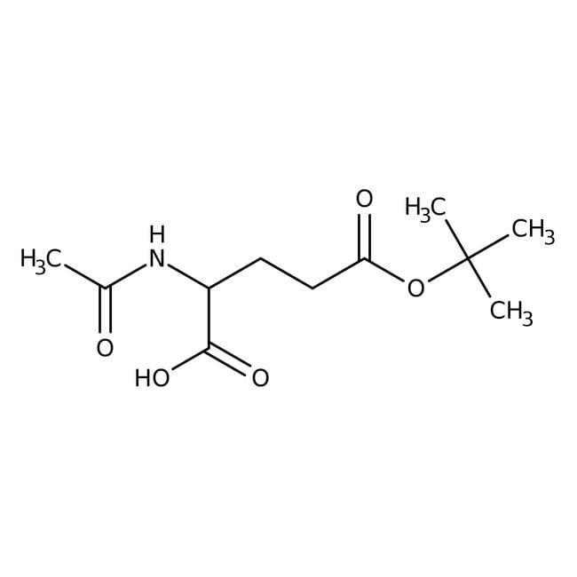 Alfa Aesar™N-Acetyl-L-Glutaminsäure 5-tert-Butylester, 95% 250mg Alfa Aesar™N-Acetyl-L-Glutaminsäure 5-tert-Butylester, 95%