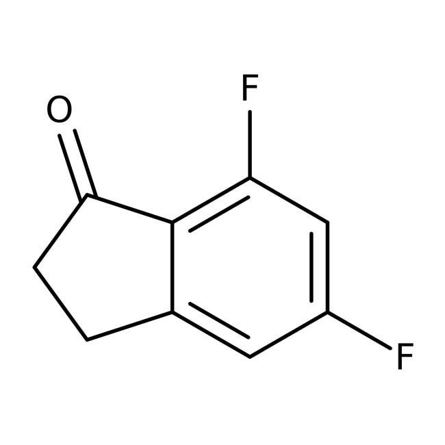 Alfa Aesar™5,7-Difluoro-1-indanone, 97%