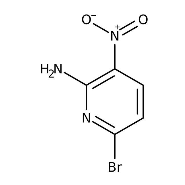 2-Amino-6-bromo-3-nitropyridine, 97%, ACROS Organics™