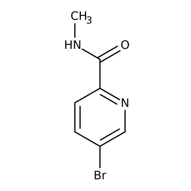 Alfa Aesar™5-Bromo-N-methylpyridine-2-carboxamide, 96%