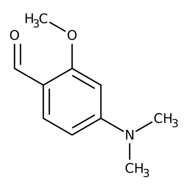 4-Dimethylamino-2-methoxybenzaldehyde, 98%, Thermo Scientific™: Aniline and substituted anilines Benzene and substituted derivatives