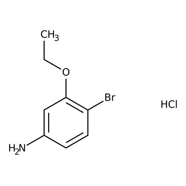 Alfa Aesar  4-Bromo-3-ethoxyaniline hydrochloride, 98%