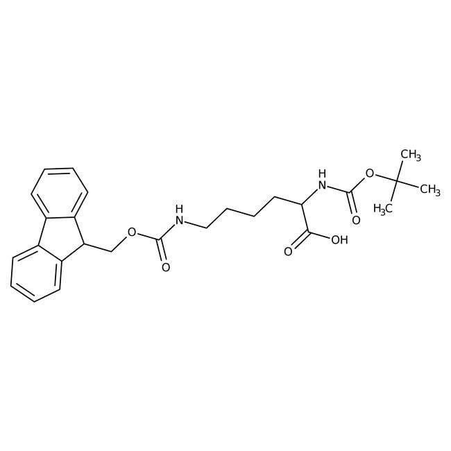 Alfa Aesar™Nalpha-Boc-Nepsilon-Fmoc-L-Lysin, 98% 5g Alfa Aesar™Nalpha-Boc-Nepsilon-Fmoc-L-Lysin, 98%