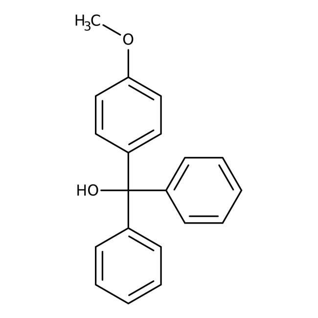 Alfa Aesar™4-Methoxytrityl alcohol, 94% 10g Alfa Aesar™4-Methoxytrityl alcohol, 94%