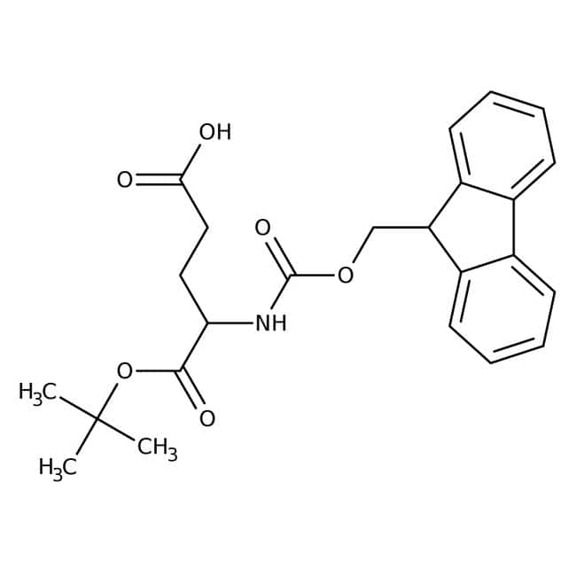 Alfa Aesar™N-Fmoc-L-glutamic acid 1-tert-butyl ester, 98% 1g Alfa Aesar™N-Fmoc-L-glutamic acid 1-tert-butyl ester, 98%