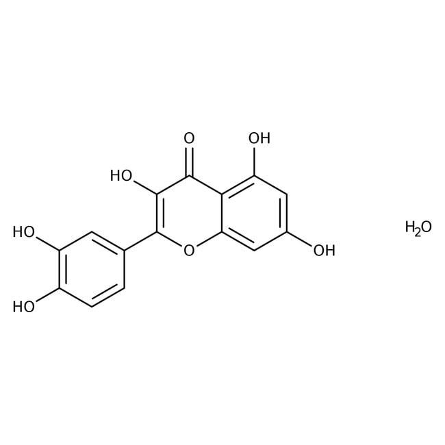 Quercetin hydrate, 95%, ACROS Organics