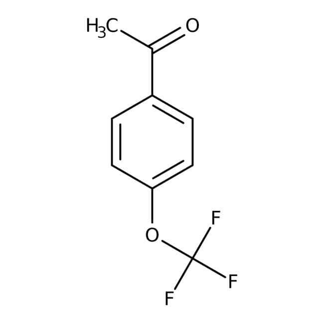 4'-(Trifluoromethoxy)acetophenone, 98%, ACROS Organics™ 1g; Glass bottle 4'-(Trifluoromethoxy)acetophenone, 98%, ACROS Organics™